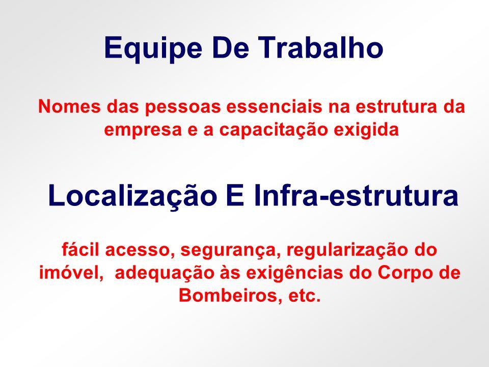 Localização E Infra-estrutura