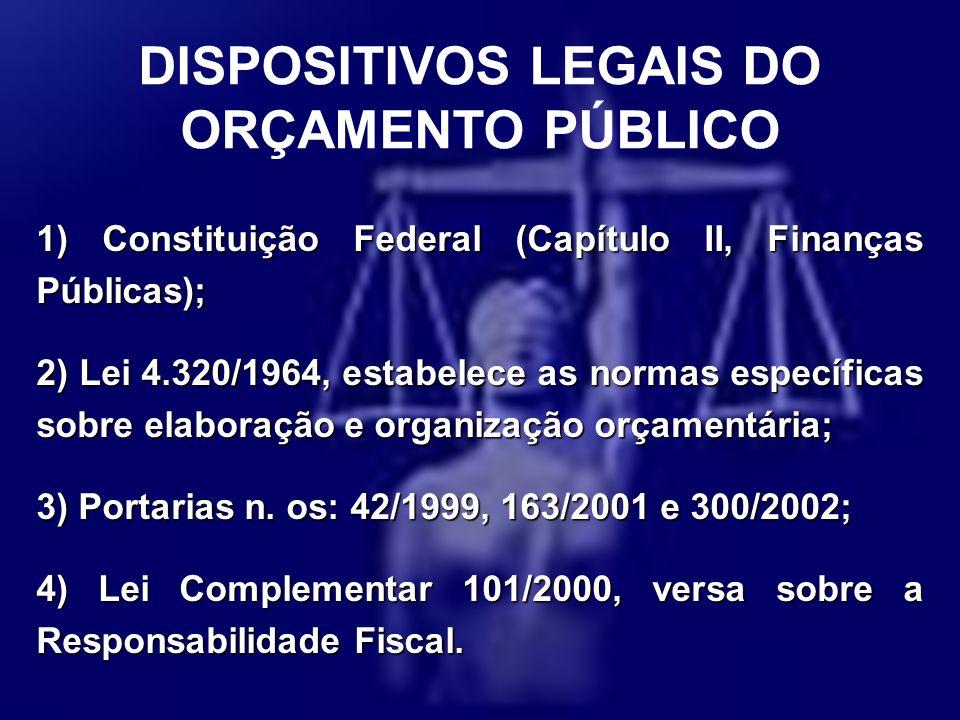 DISPOSITIVOS LEGAIS DO
