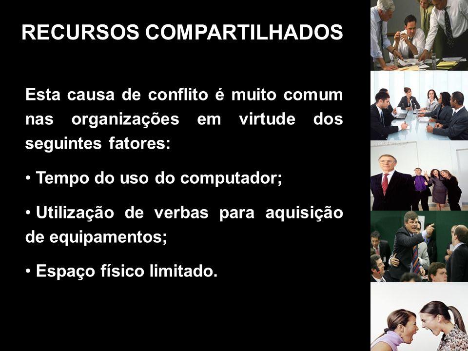 RECURSOS COMPARTILHADOS
