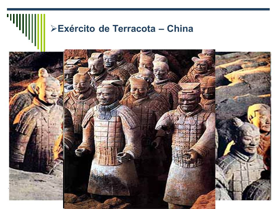 Exército de Terracota – China