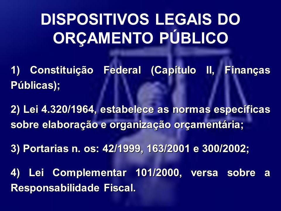 DISPOSITIVOS LEGAIS DO