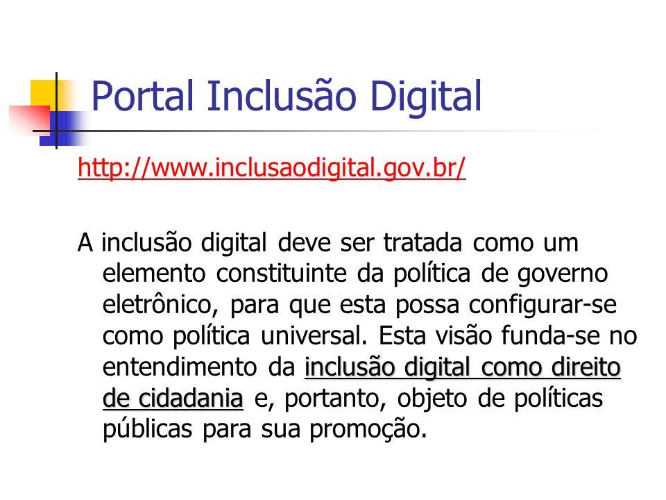 Portal Inclusão Digital