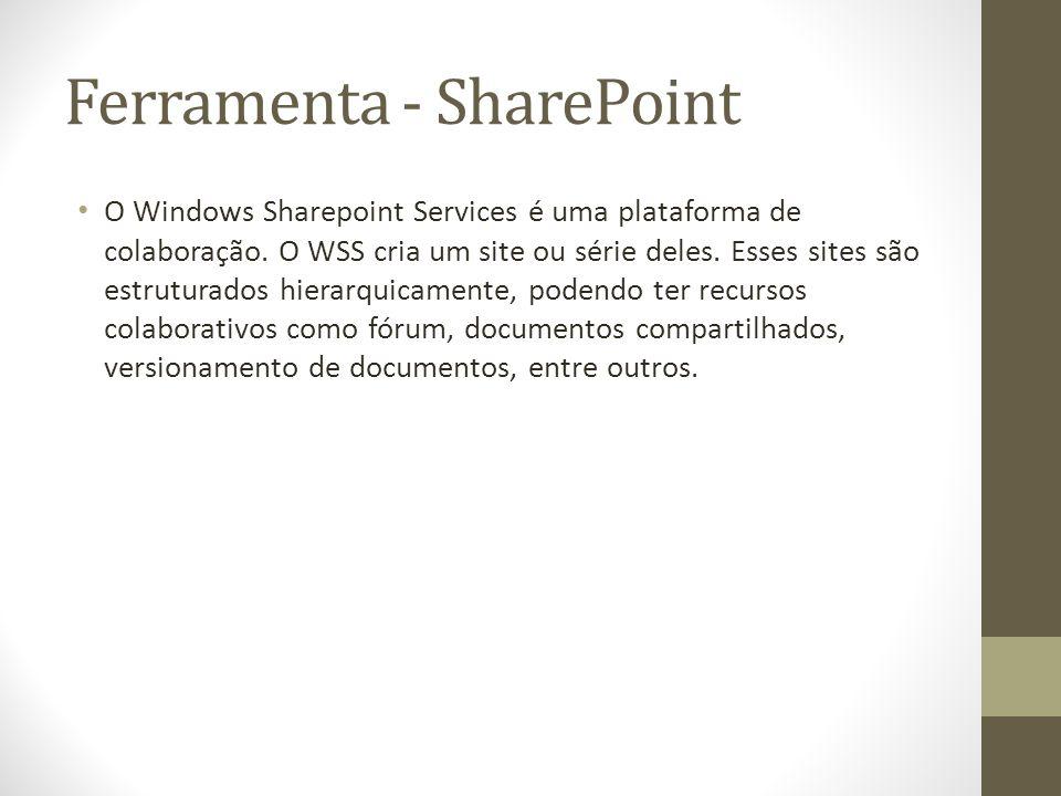 Ferramenta - SharePoint