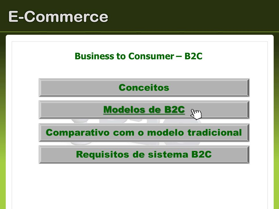 Business to Consumer – B2C