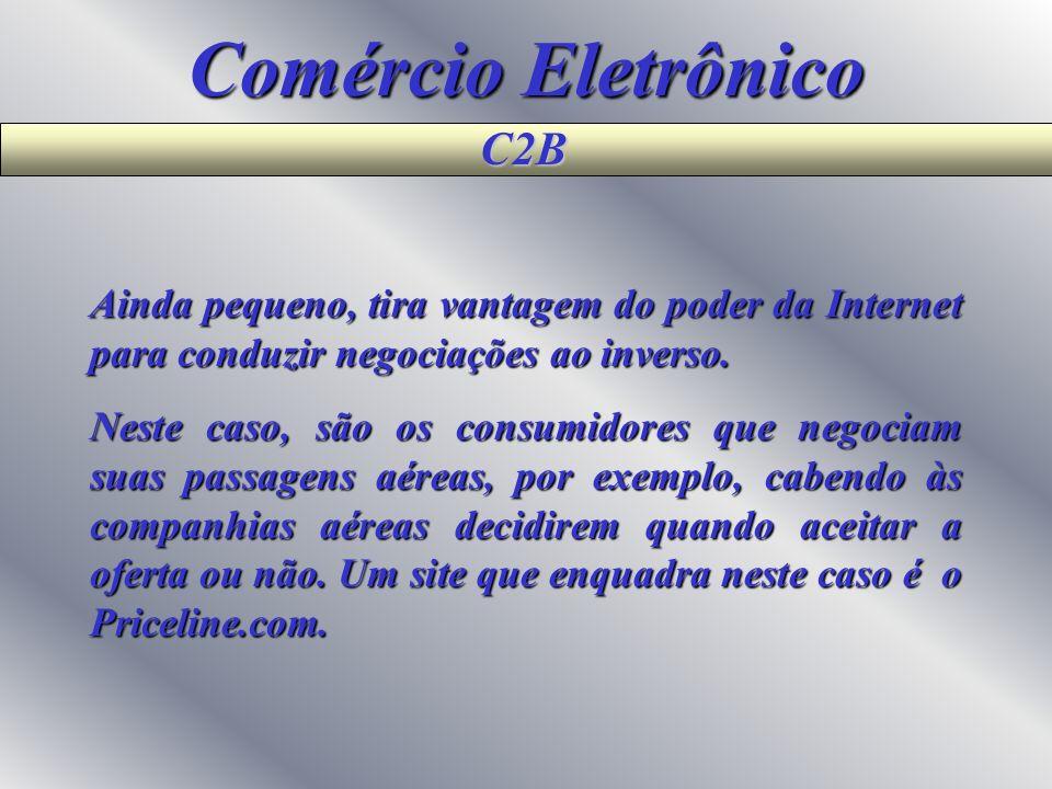 Comércio Eletrônico C2B