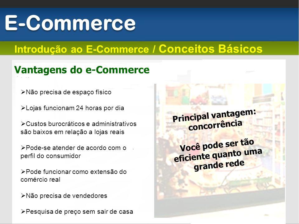 E-Commerce Introdução ao E-Commerce / Conceitos Básicos