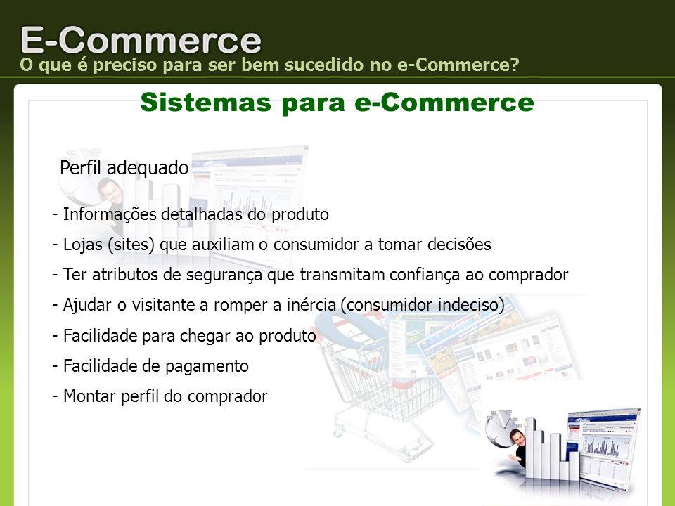Sistemas para e-Commerce