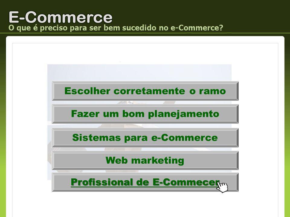 Profissional de E-Commecer