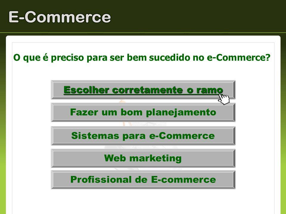 O que é preciso para ser bem sucedido no e-Commerce