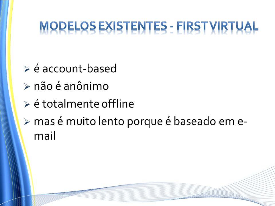 Modelos Existentes - First Virtual
