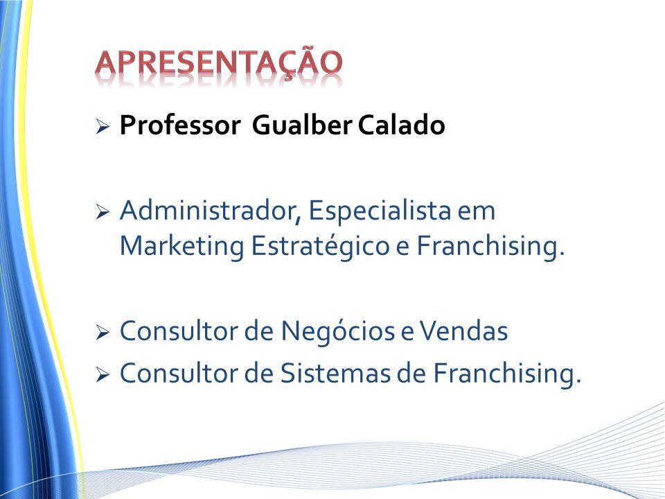 Apresentação Professor Gualber Calado
