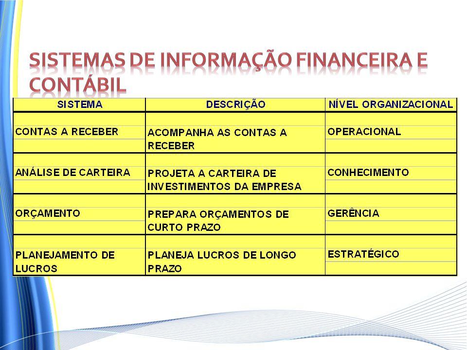 Sistemas de informação financeira e contábil