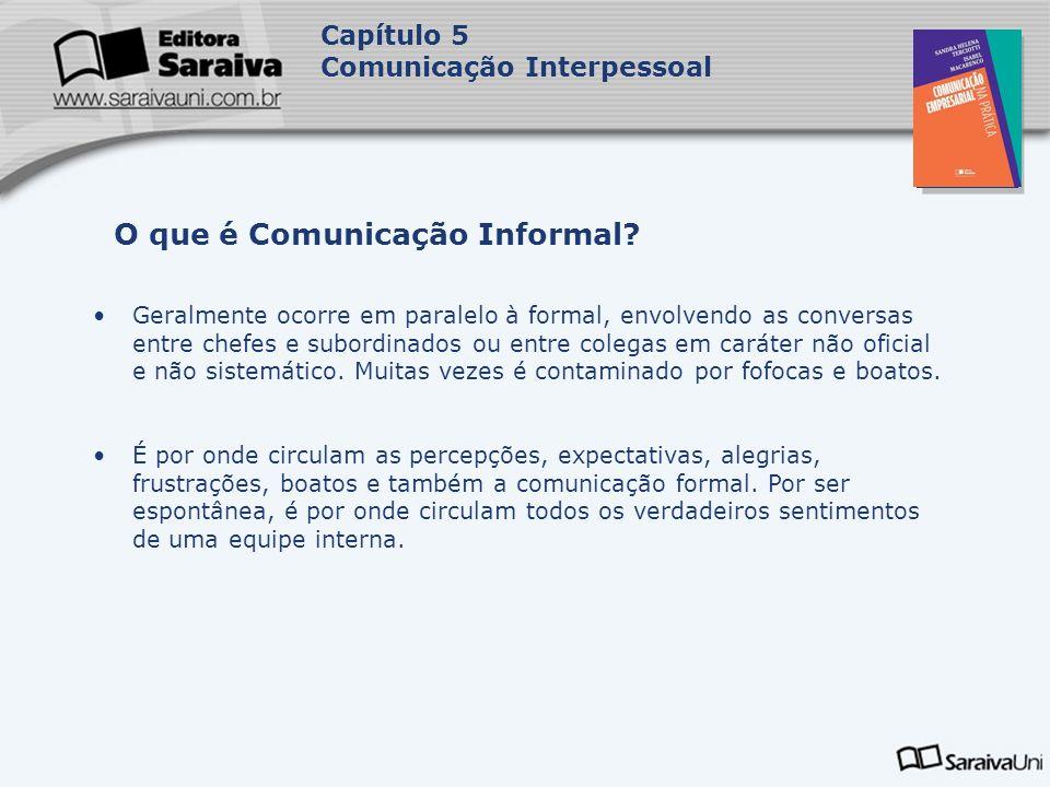 O que é Comunicação Informal