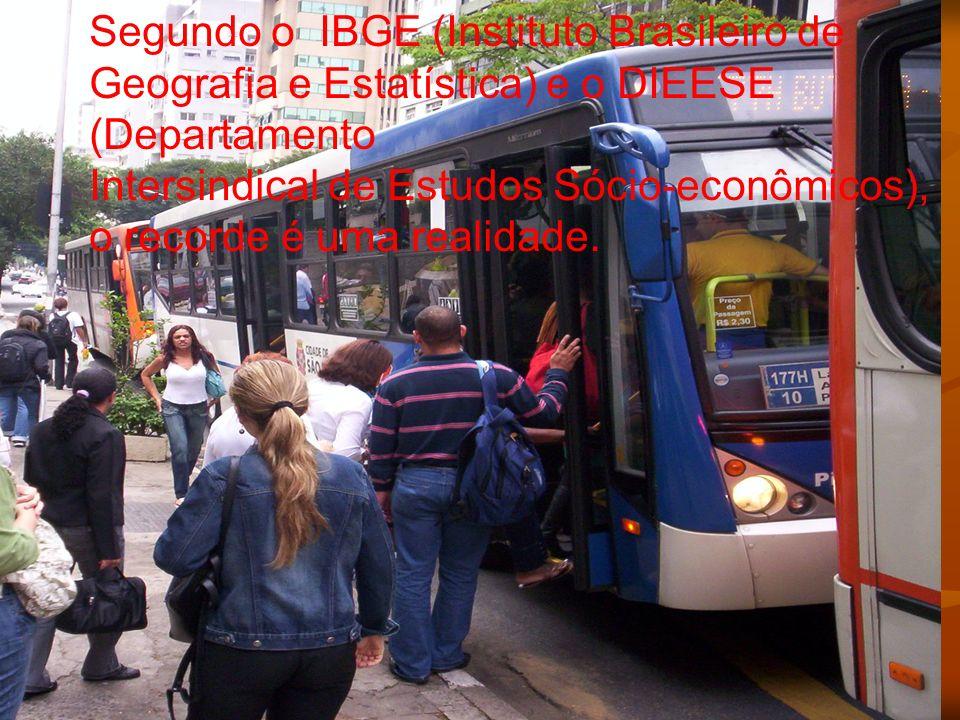 Segundo o IBGE (Instituto Brasileiro de