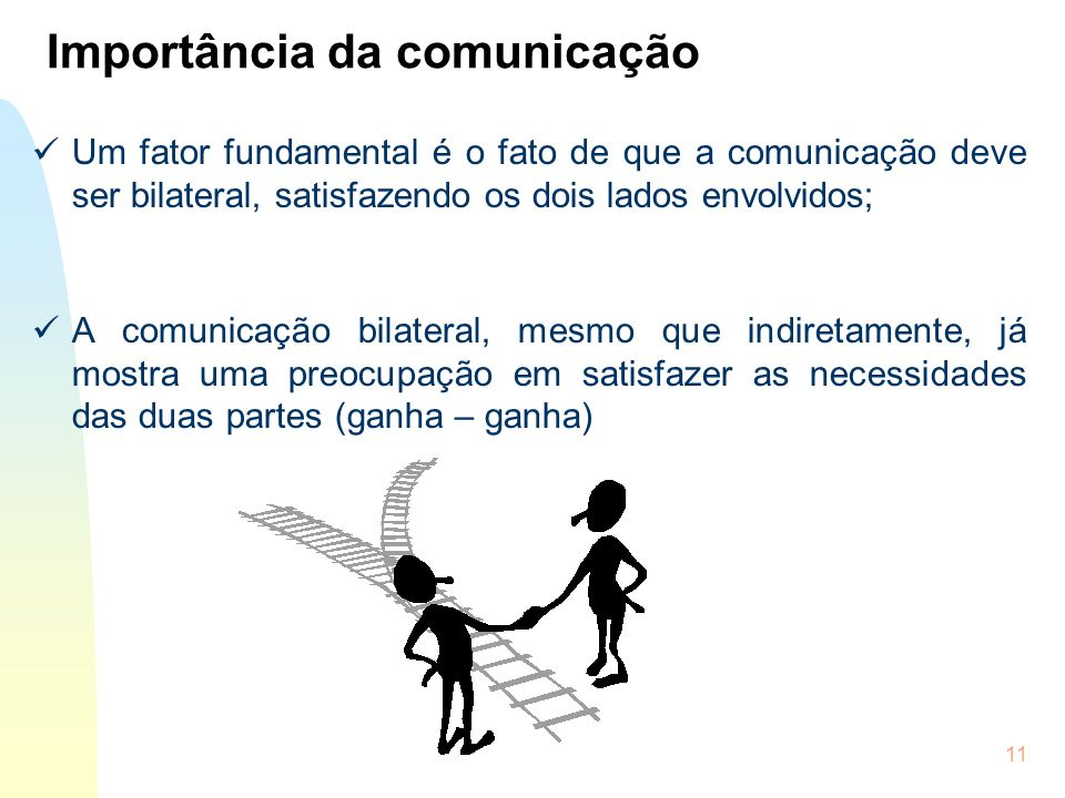 Importância da comunicação