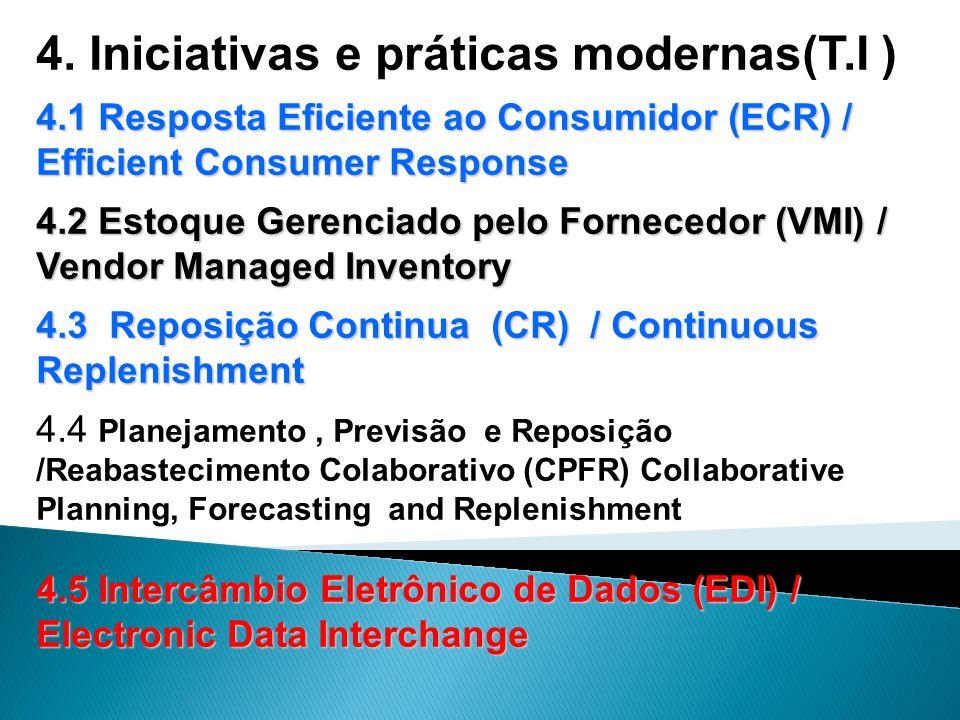 4. Iniciativas e práticas modernas(T.I )