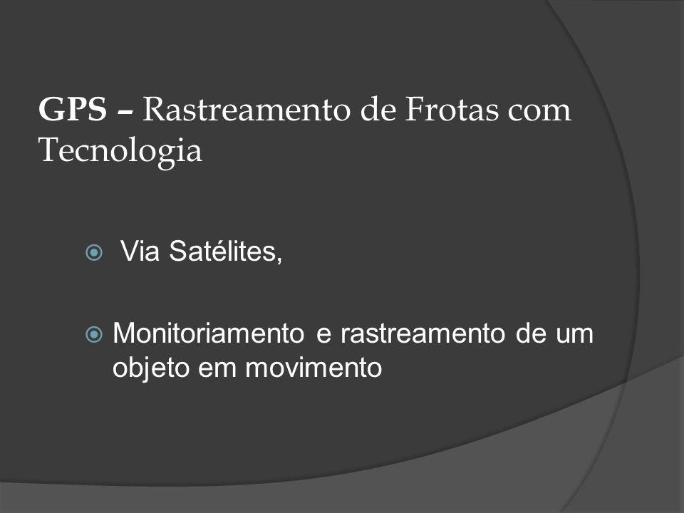 GPS – Rastreamento de Frotas com Tecnologia