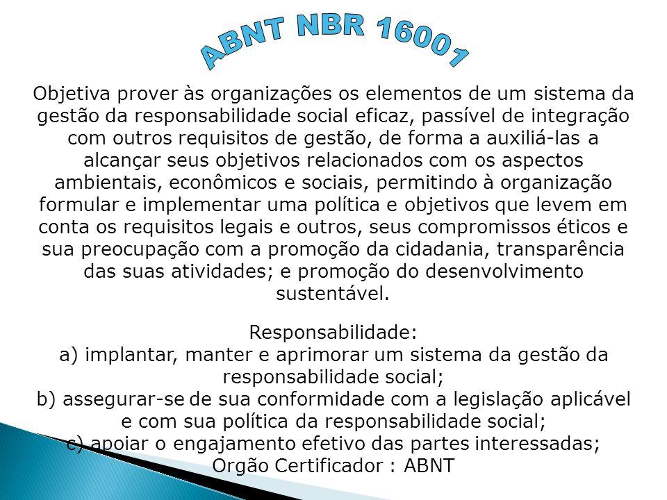 ABNT NBR 16001