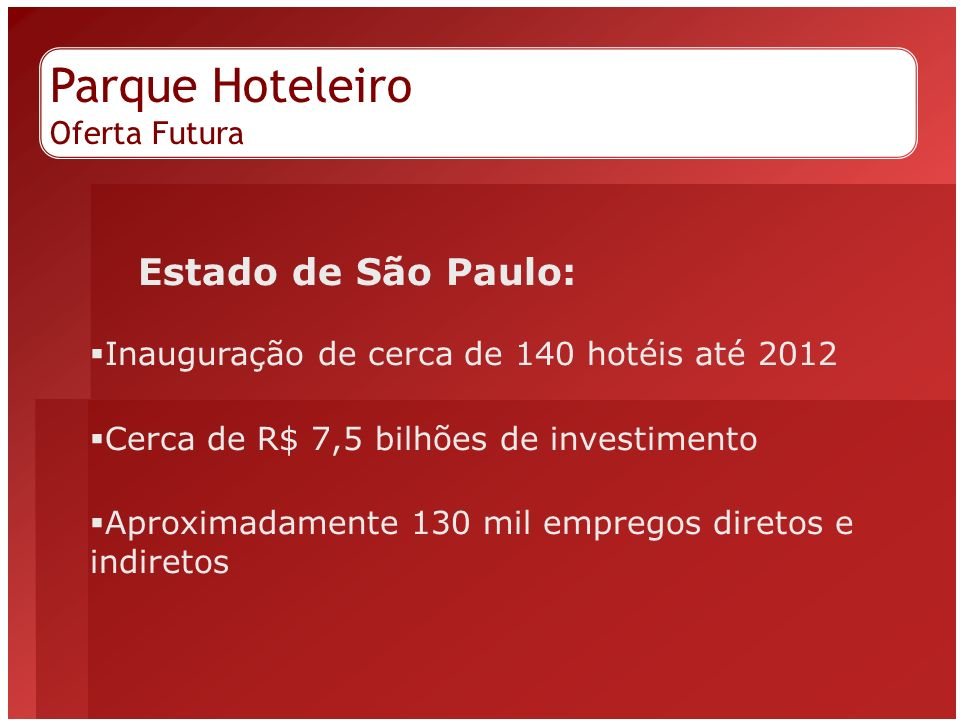 Parque Hoteleiro Oferta Futura