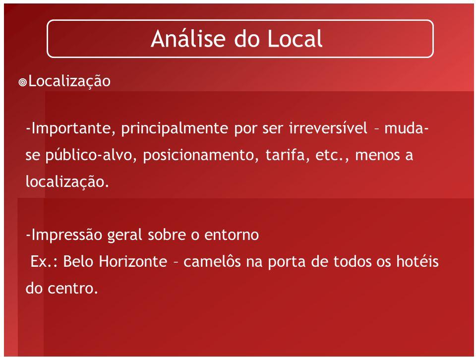 Análise do Local Localização