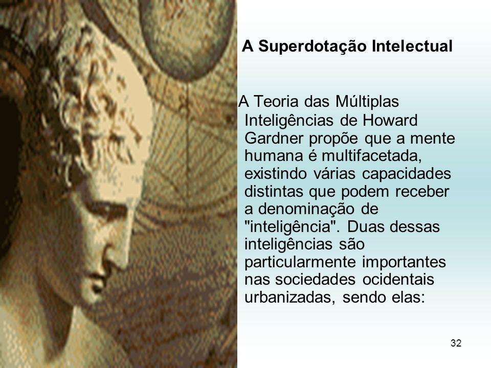 A Superdotação Intelectual