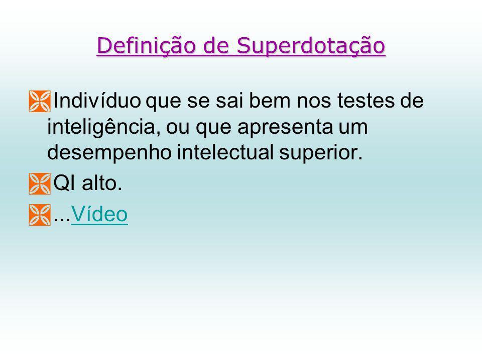 Definição de Superdotação