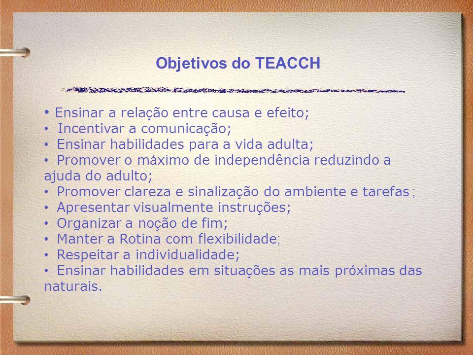 Ensinar a relação entre causa e efeito;