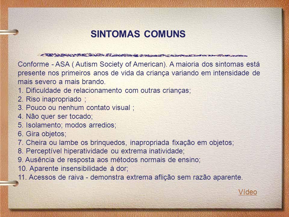 SINTOMAS COMUNS