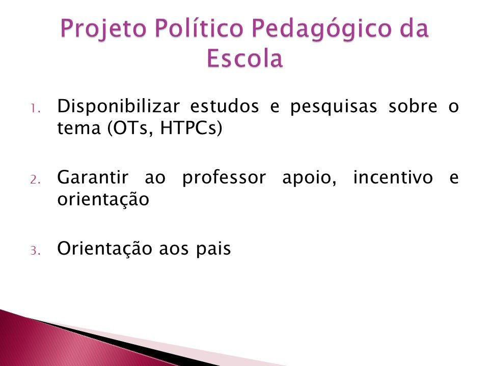 Projeto Político Pedagógico da Escola