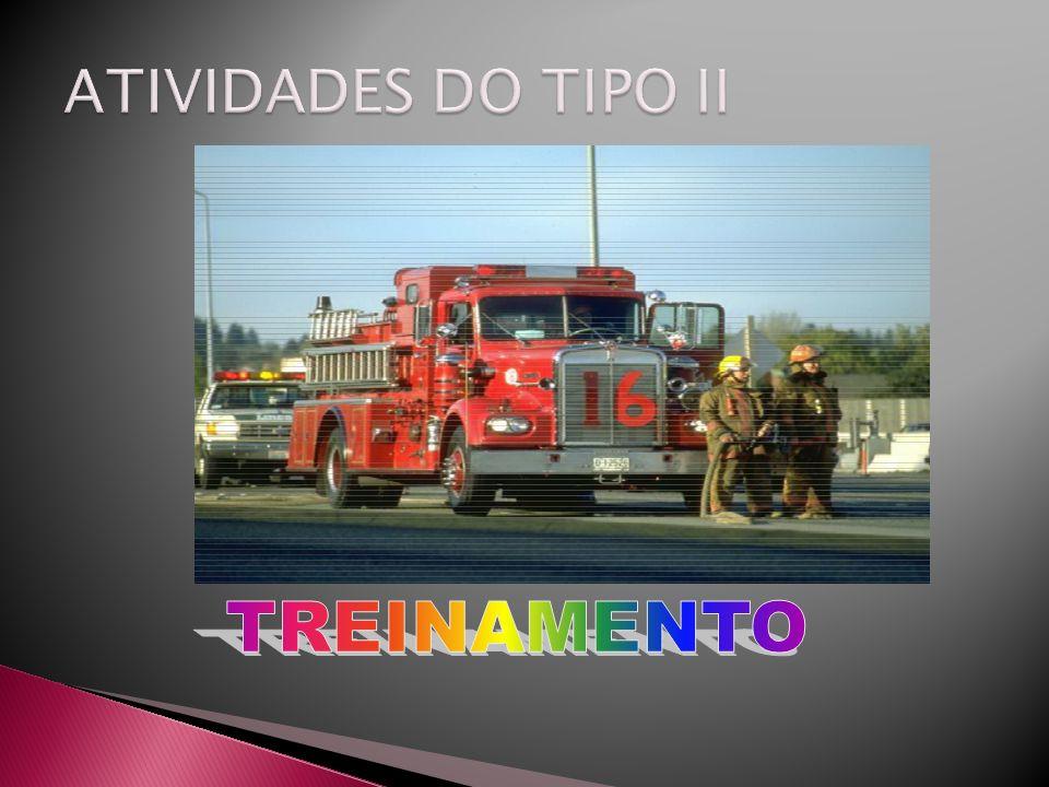 ATIVIDADES DO TIPO II TREINAMENTO