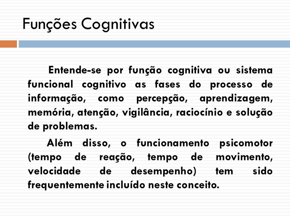 Funções Cognitivas