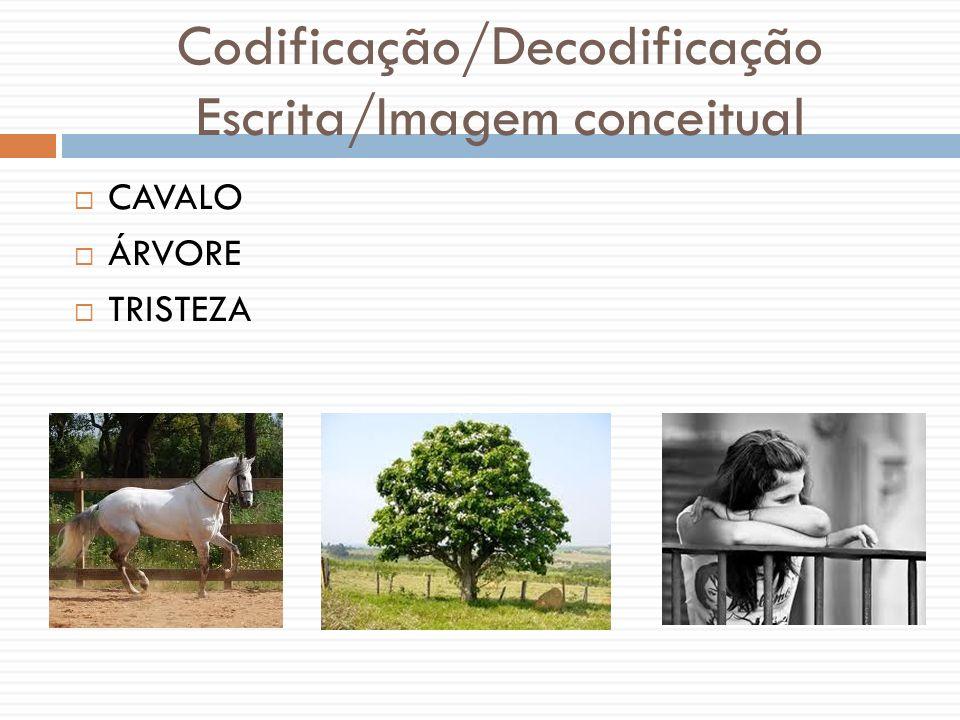 Codificação/Decodificação Escrita/Imagem conceitual