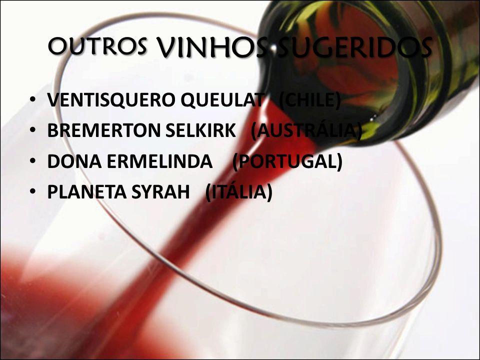 Outros vinhos sugeridos