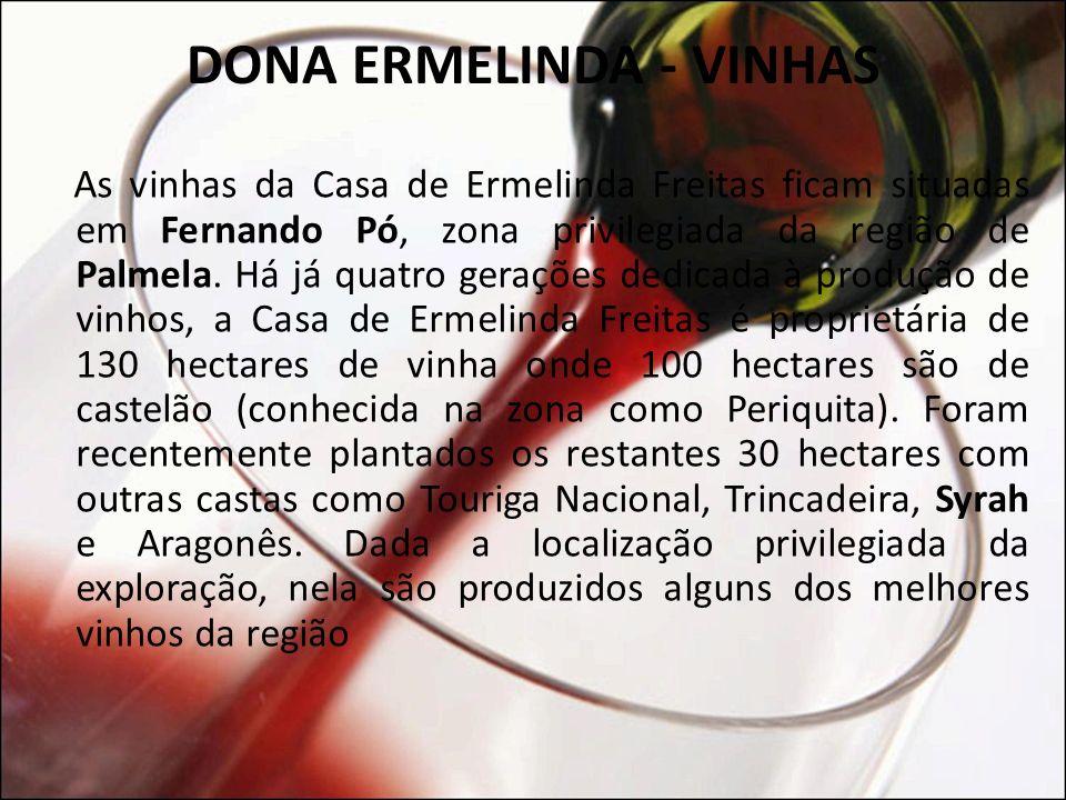 DONA ERMELINDA - VINHAS