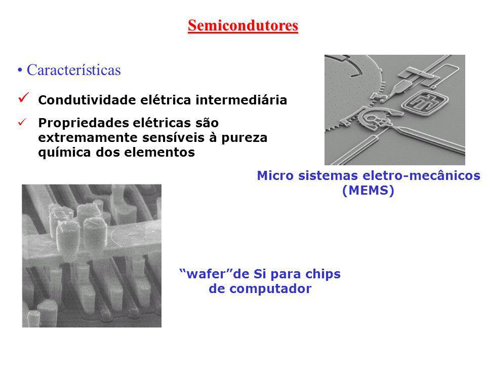 Condutividade elétrica intermediária