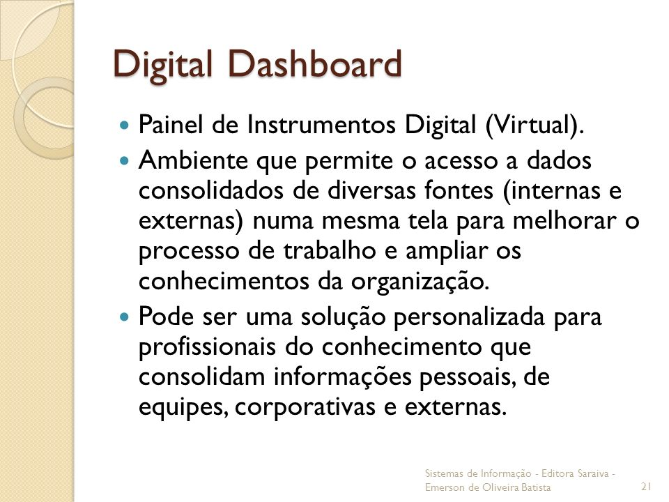 Digital Dashboard Painel de Instrumentos Digital (Virtual).