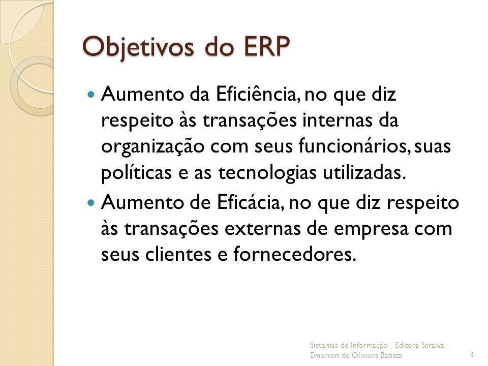 Objetivos do ERP