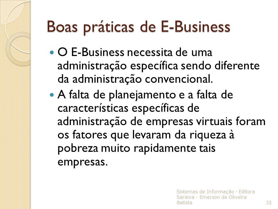 Boas práticas de E-Business