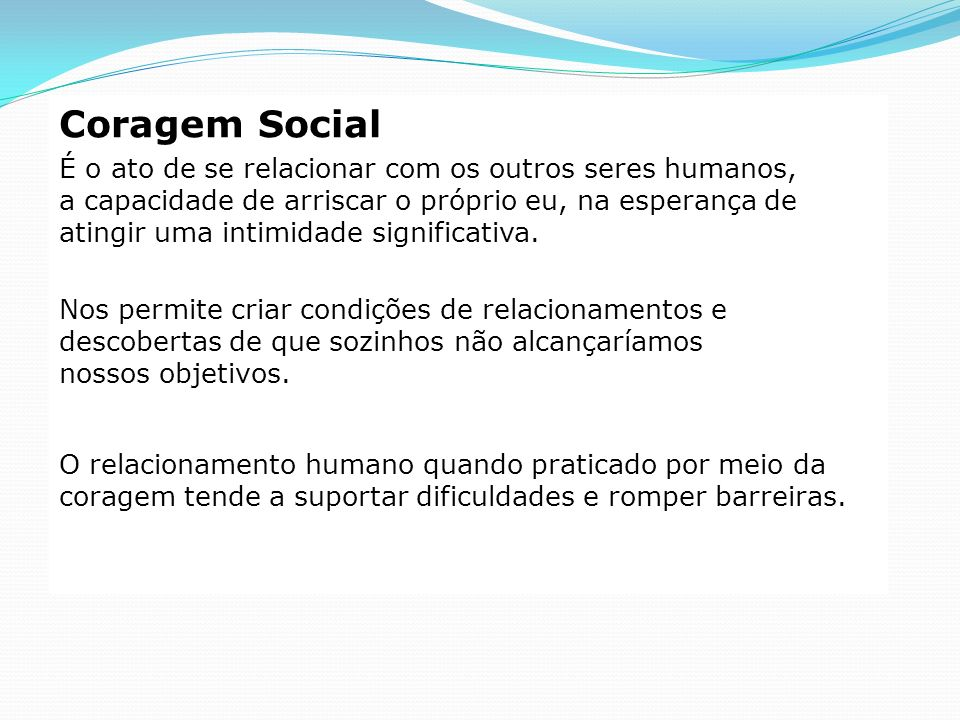 Coragem Social