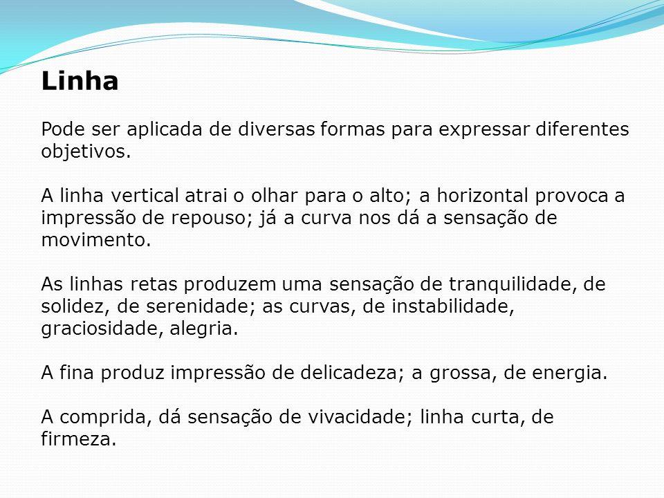 LinhaPode ser aplicada de diversas formas para expressar diferentes objetivos.
