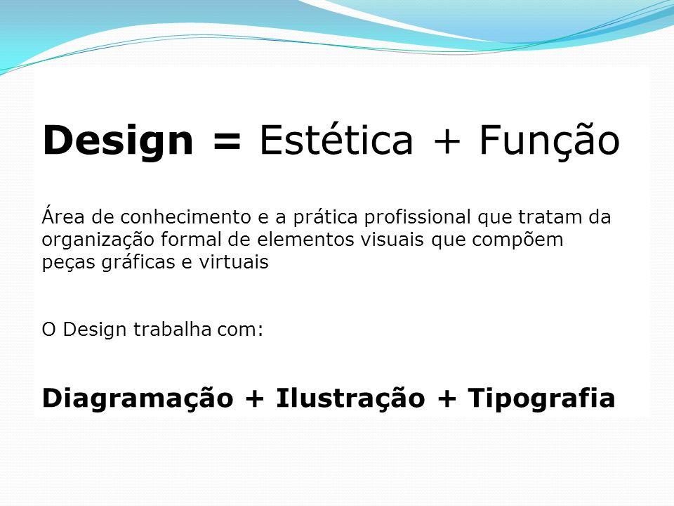 Design = Estética + Função