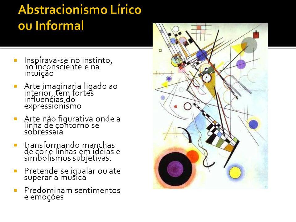Abstracionismo Lírico ou Informal