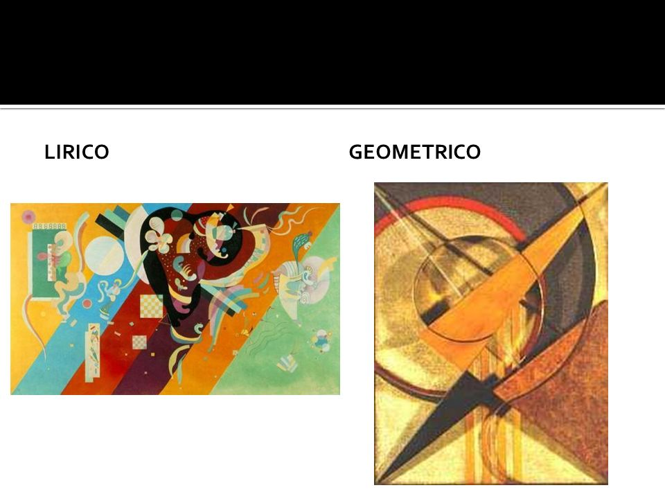 Lirico Geometrico