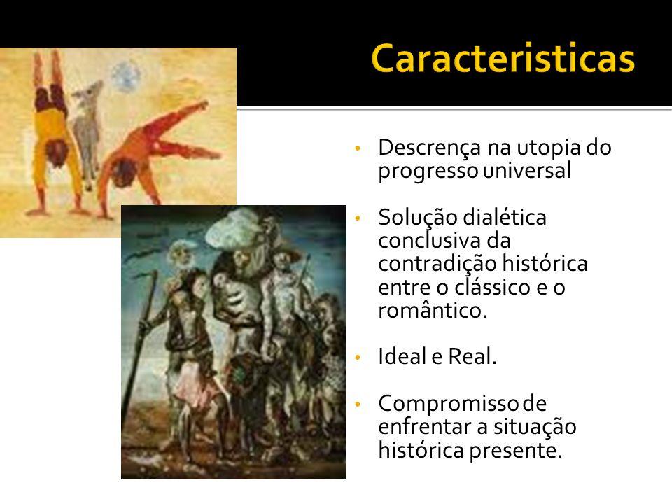 Caracteristicas Descrença na utopia do progresso universal