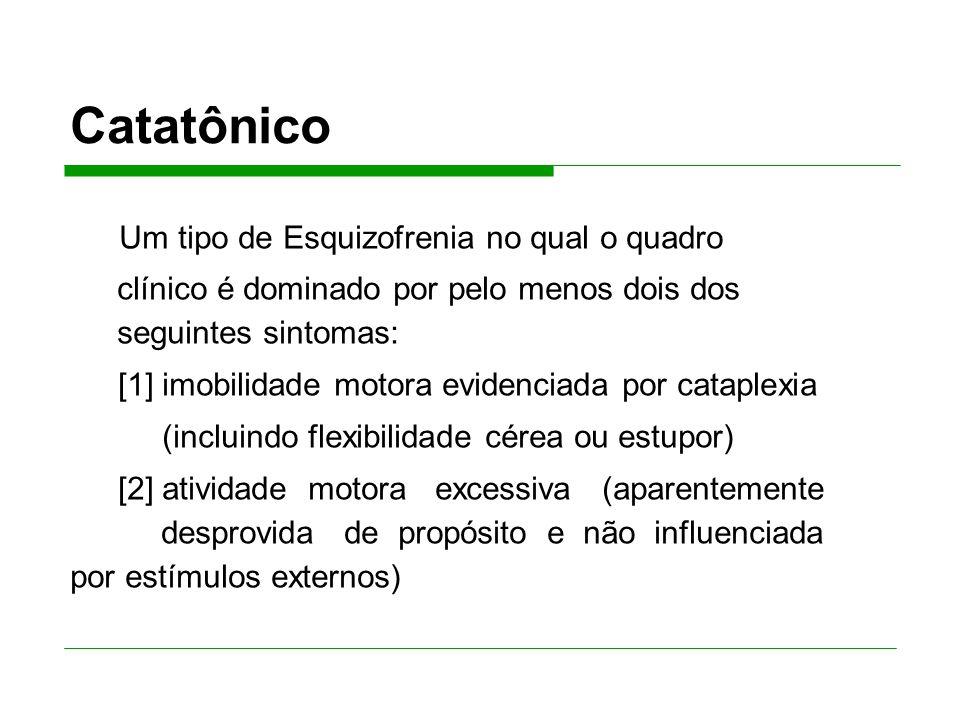 Catatônico