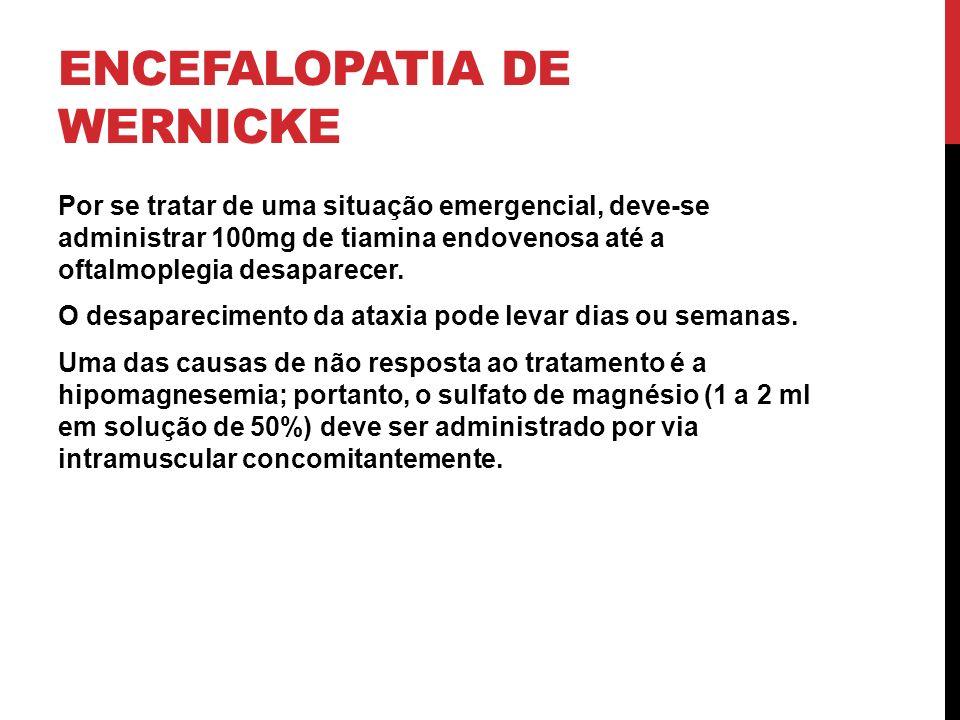 Encefalopatia de wernicke