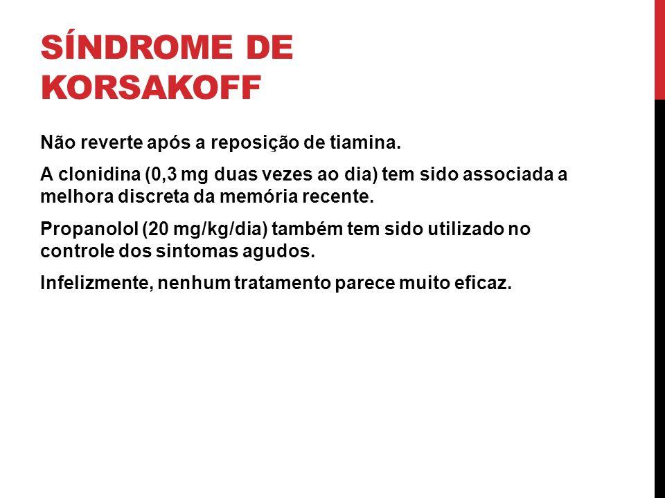 Síndrome de Korsakoff