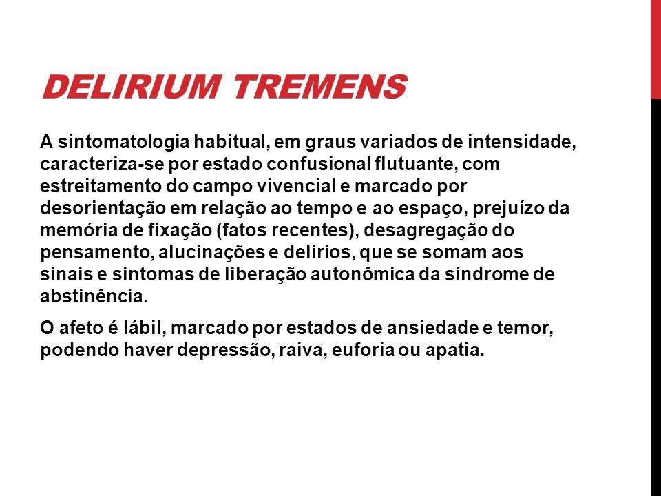 Delirium tremens