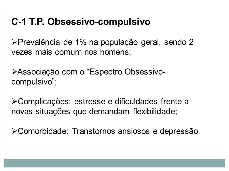 C-1 T.P. Obsessivo-compulsivo