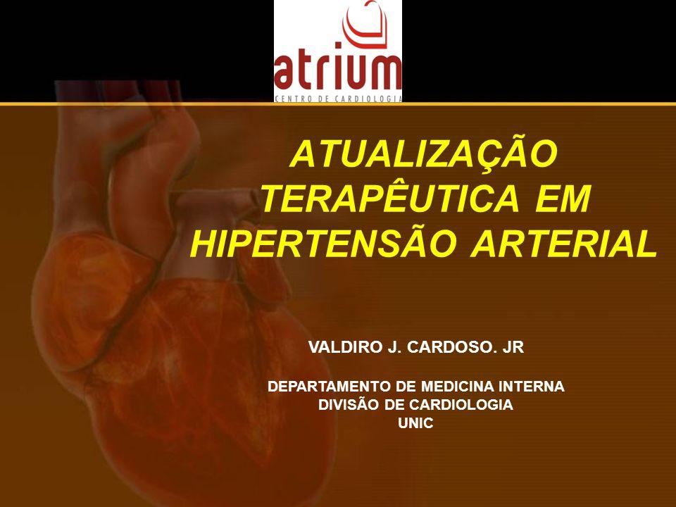 ATUALIZAÇÃO TERAPÊUTICA EM HIPERTENSÃO ARTERIAL